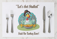Special huorous stuffed turkey Thanksgiving holiday products. Check out the collecton!
