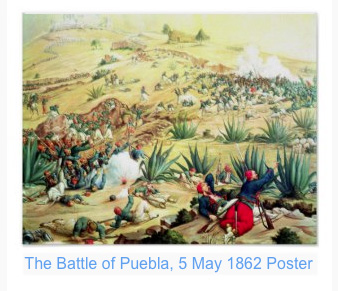 Battle of Puebla, Mexico poster. Get a copy now at Zazzle.com.
