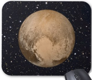 Heart of Pluto mousepad. Get this and other pluto themed producgts now.