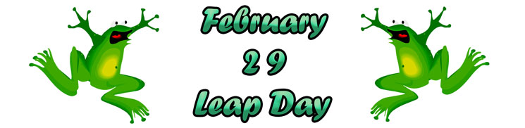 Leap Day is February 29, 2020. Get your party supplies here!