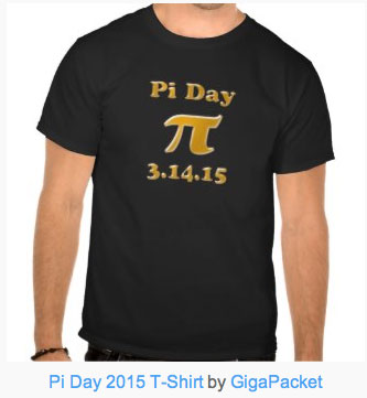Pi Day 2015 T-Shirt. Get one for yourself now!