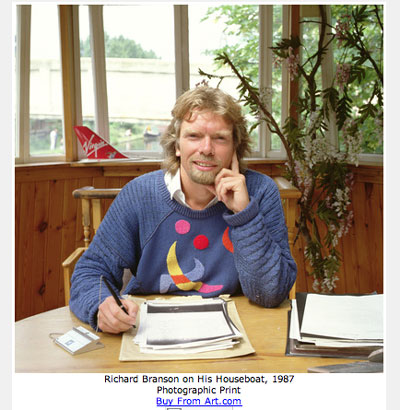 Richard Branson photo. Get one for yourself now.