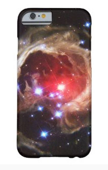 Ruby Red Star Dust iPhone 6 Cellphone Case. Find more items with this theme at the Gigapacket tech gifts store.