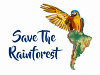 Save The Rainforest - Products that promote this cause.
