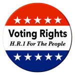 Voting rights for the people! Get your campaign supplies here!